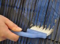 本体カバー、フィルターを外して洗浄
